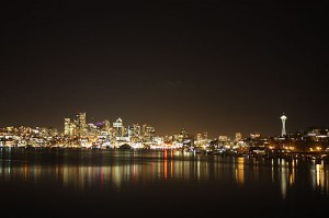 Seattle Skyline from Gas Works Park